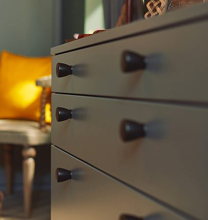 Bedroom chest from the House Beautiful nominated Esker Style 1