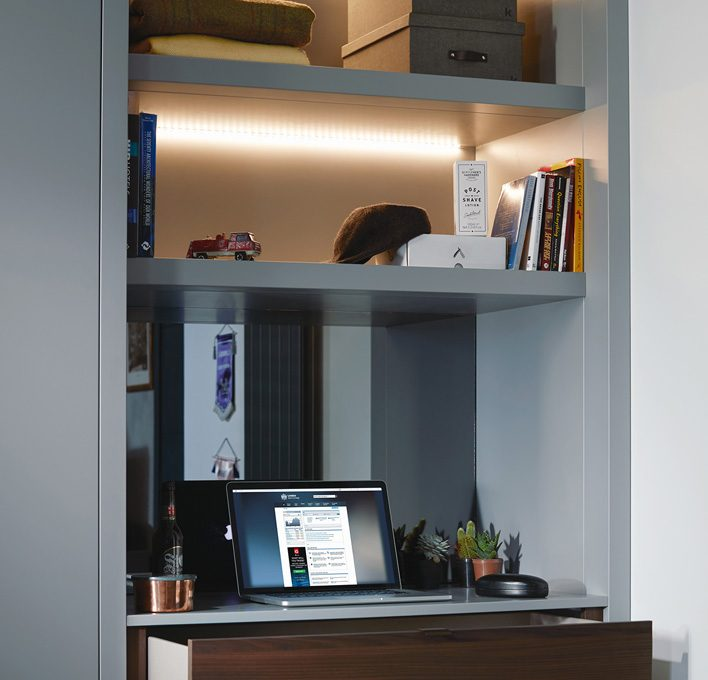 Spring cleaning tips: desk storage - Sculpt range.