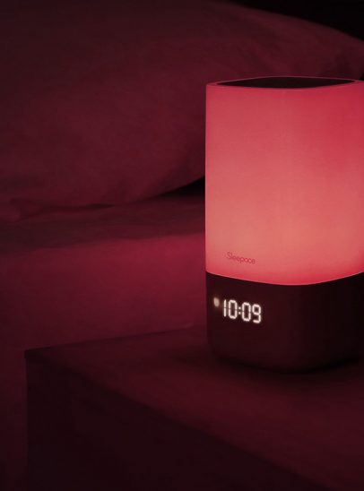 Sleep Ace light technology glowing red
