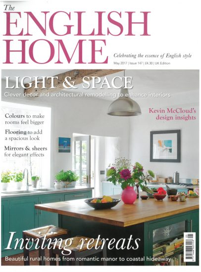 Front Cover of The English Home Magazine May Issue