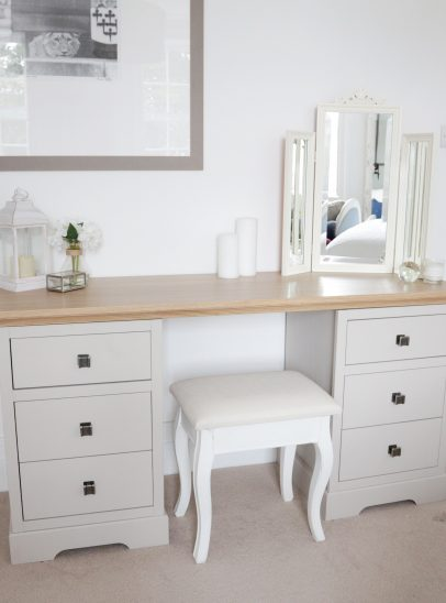 Complete the Look with Natalie Pinkham's dressing table