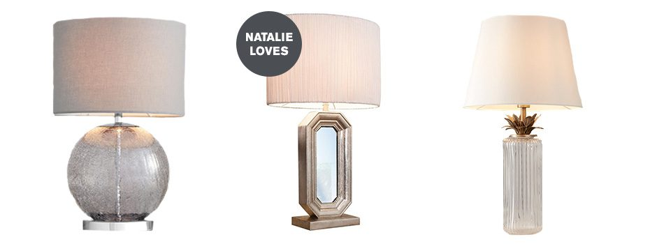 Three lamps to help Complete the Look with Natalie Pinkham