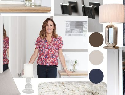 Complete the Look with Natalie Pinkham moodboard