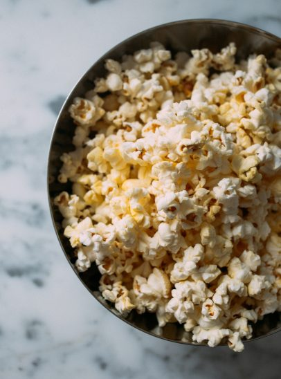 Which Christmas movie should I watch: Popcorn in bowl