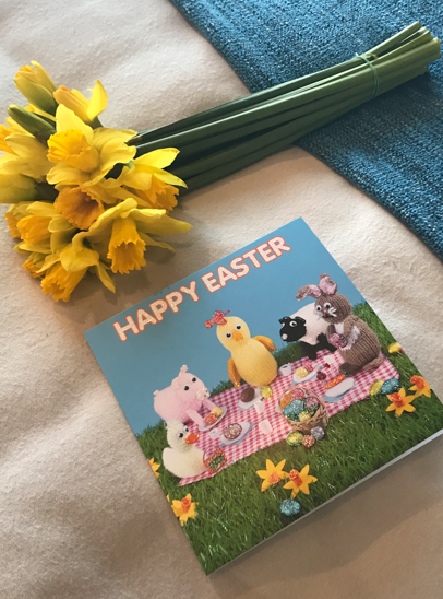 Things to do this Easter weekend | Easter card with flowers